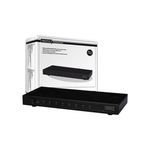 Digitus HDMI elektronický 1 -> 8