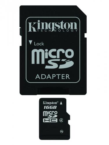 Kingston 16GB Class 4 + adapter
