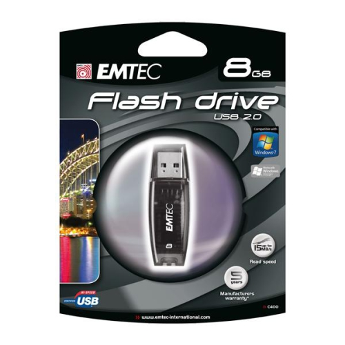 Emtec C400 8GB černý