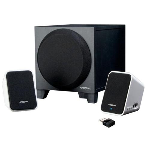 Creative Labs S2 Wireless 2.1 černá