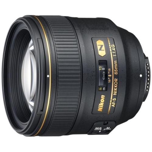 Nikon NIKKOR 85MM F1.4G AF-S černý