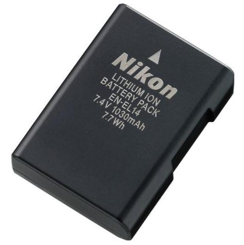 Nikon EN-EL14 pro D3100/D5100/P7000/P7100 černý