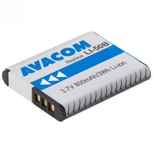 Avacom pro Olympus Li-Ion 3,7V 800mAh