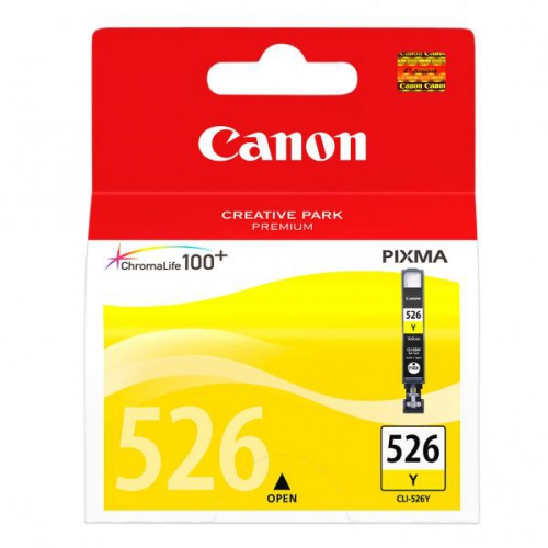 Canon CLI-526 Y, 9ml - originální žlutá