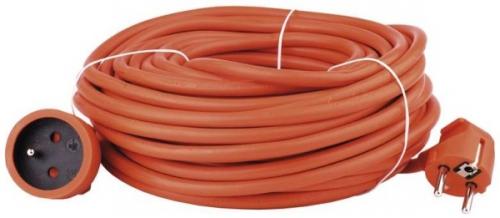 Fotografie Kabel prodlužovací 30m/250V, oranžová