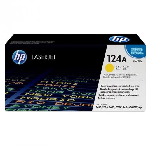 HP Q6002A, 2K stran - originální žlutá