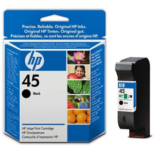HP No. 45, 21ml - originální černá