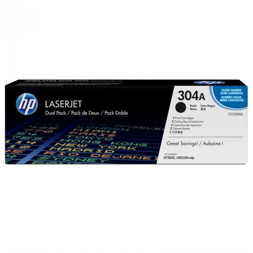 HP CC530AD, 7K stran - originální černá