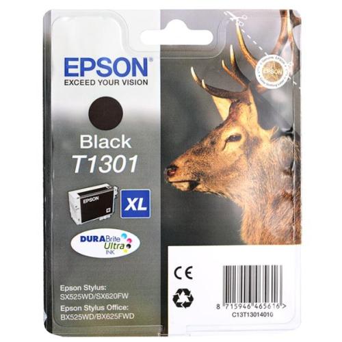 Epson T1301, 25ml - originální černá