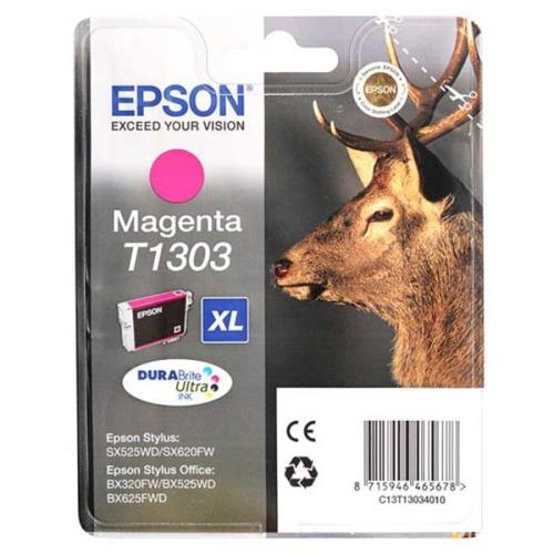Epson T1303, 10ml - originální červená
