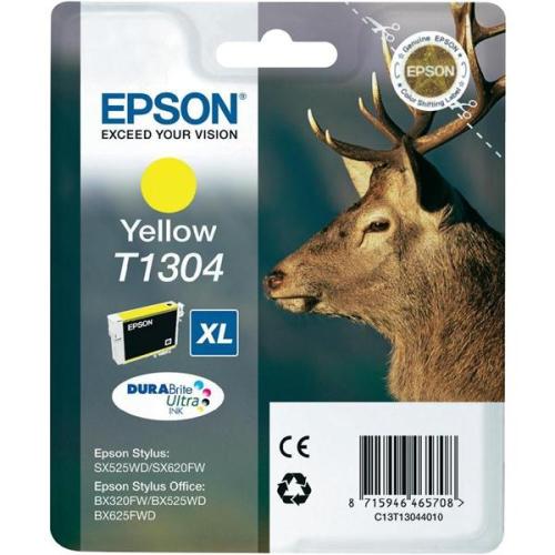 Epson T1304, 10ml - originální žlutá