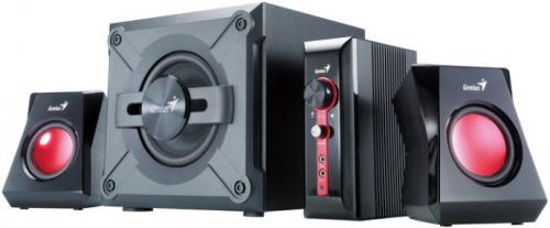 Reproduktory Genius GX Gaming SW-G 2.1 1250 černé/červené