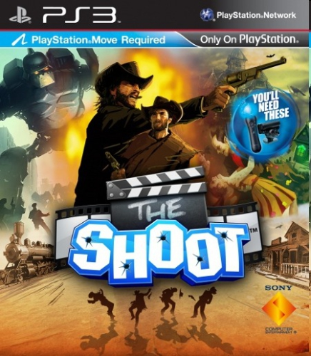 Sony PlayStation 3 MOVE The Shoot