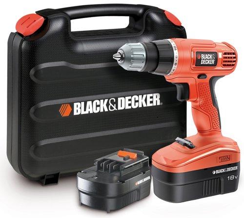 Black-Decker EPC18CABK, 2 aku