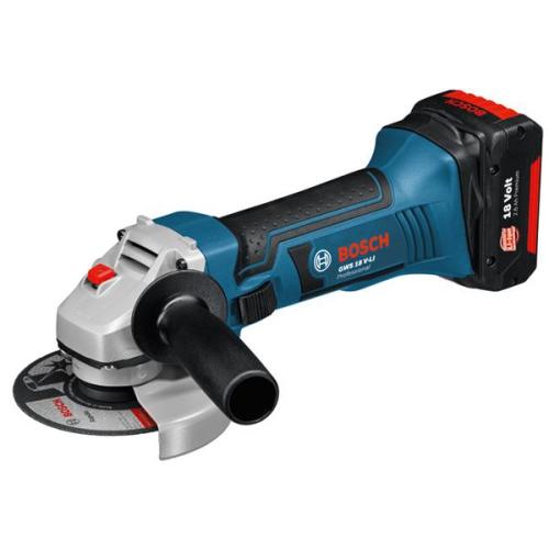 Bosch GWS 18 V-LI Professional, 2x Aku