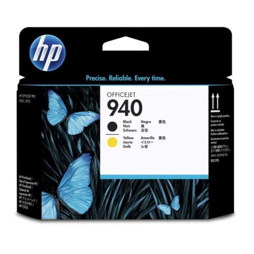HP No. 940 - originální černá/žlutá