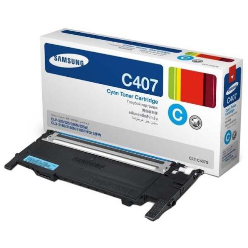 Samsung CLT-C4072S, 1K stran - originální modrý