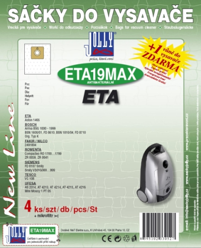 Jolly MAX ETA 19