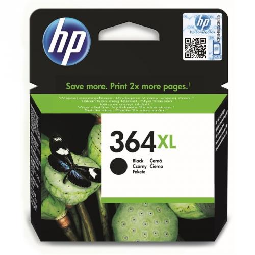 HP No. 364XL, 18ml, 550 stran - originální černá