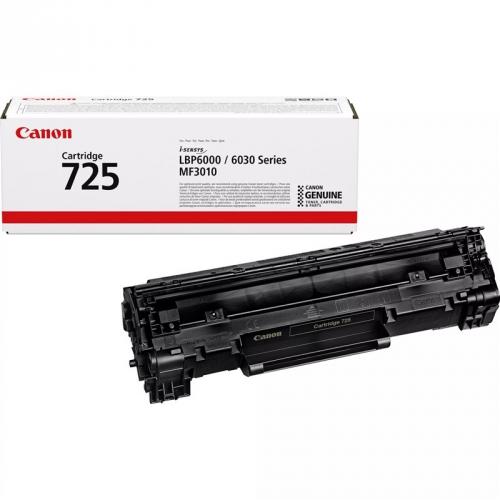 Canon CRG-725, 1,6K stran, originální černý