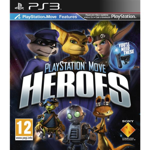 Sony PlayStation 3 MOVE Playstation Move Heroes
