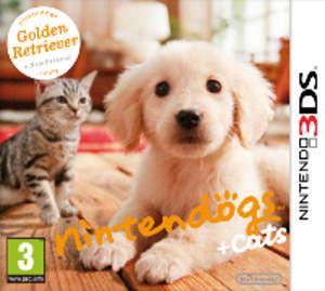 Nintendo Nintendogs+Cats - Golden Retriever&new F