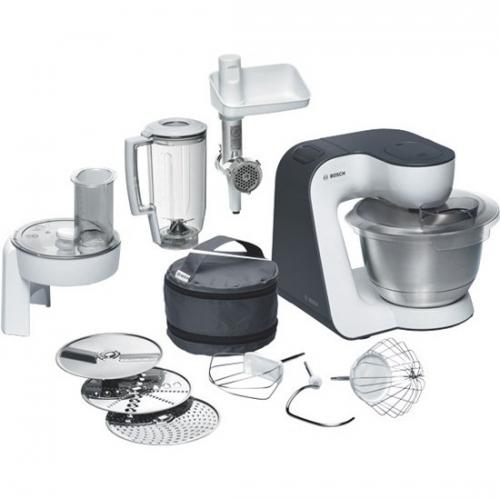 Bosch MUM52131 šedý/bílý