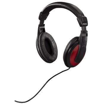 Hama HK-3031 černá/červená
