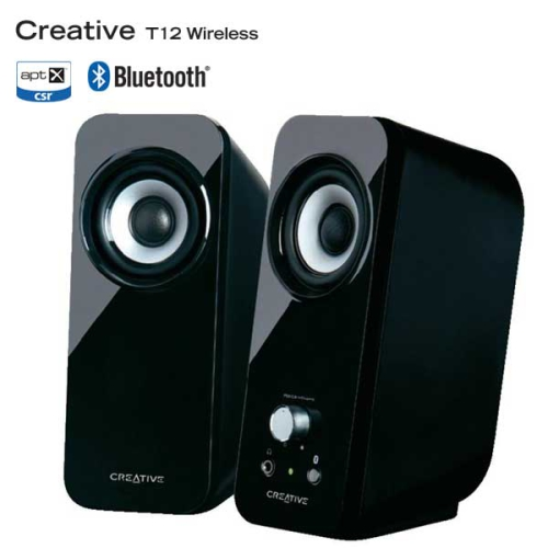 Creative Labs Inspire T12 bluetooth 2.0 černá
