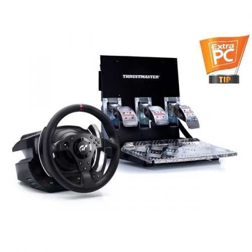 Thrustmaster T500 RS pro PS3 a PC + pedály černý