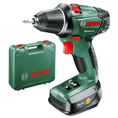 Bosch PSR 14,4 LI-2, 2 aku