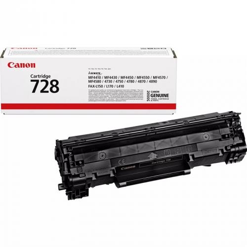Canon CRG-728, 2,1K stran, originální černá