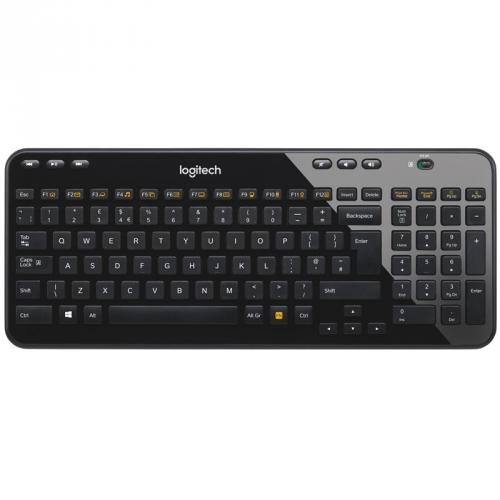 Logitech Wireless Keyboard K360 CZ černá