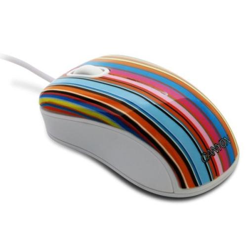 Canyon Stripes edition černá/bílá/modrá/žlutá/zelená/růžová/oranžová