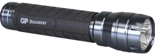 Fotografie LED svítilna GP LOE404 + 2x D baterie GP Ultra