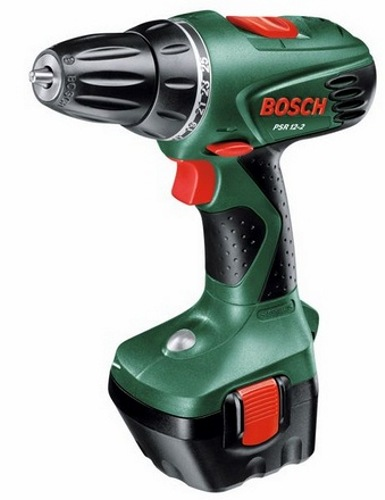 Bosch PSR 12-2, 2 aku