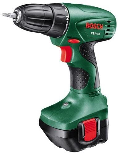 Bosch PSR 12, 2 aku
