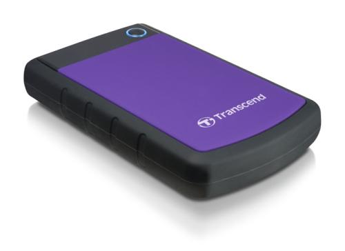 Transcend StoreJet 25H3P 500GB černý/fialový