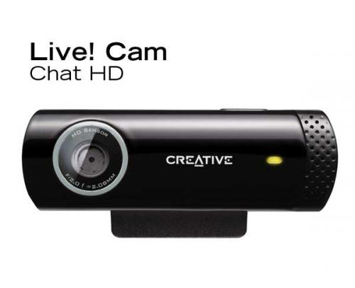 Webkamera Creative Labs Live! Cam Chat černá