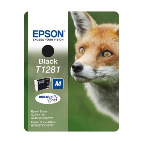 Epson T1281, 5,9ml - originální černá