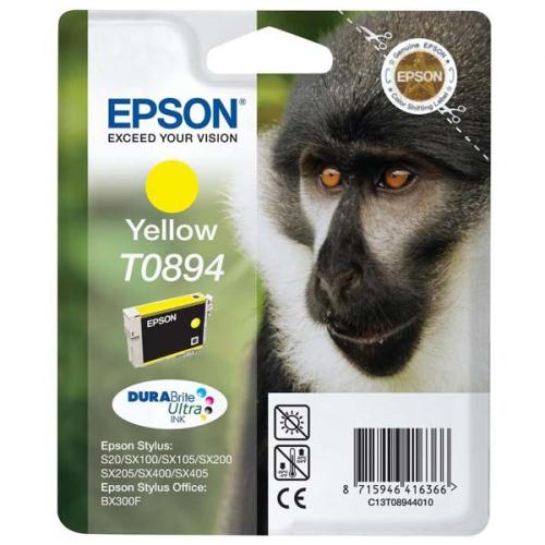 Epson T08944011, 180 stran - originální žlutá