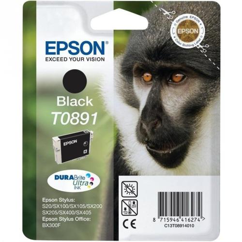 Epson T0891, 180 stran - originální černá