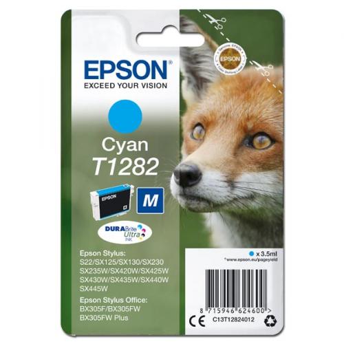 Epson T1282, 3,5ml - originální modrá
