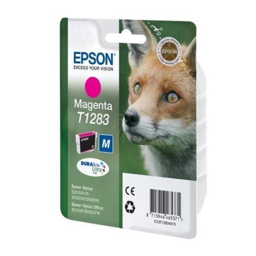 Epson T12834011, 3,5ml - originální červená