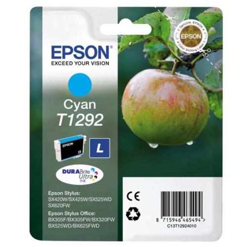 Epson T1292, 485 stran - originální modrá