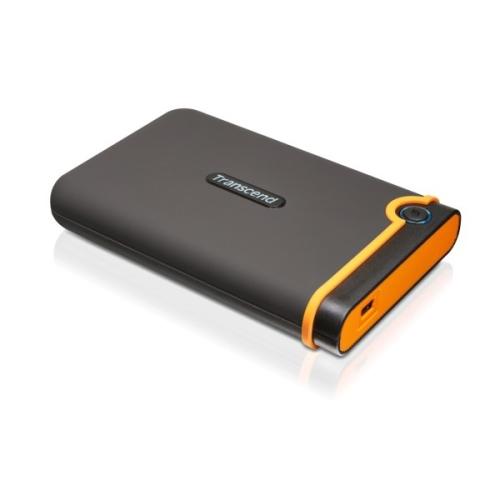 Transcend StoreJet 25M2 500 GB černý/oranžový