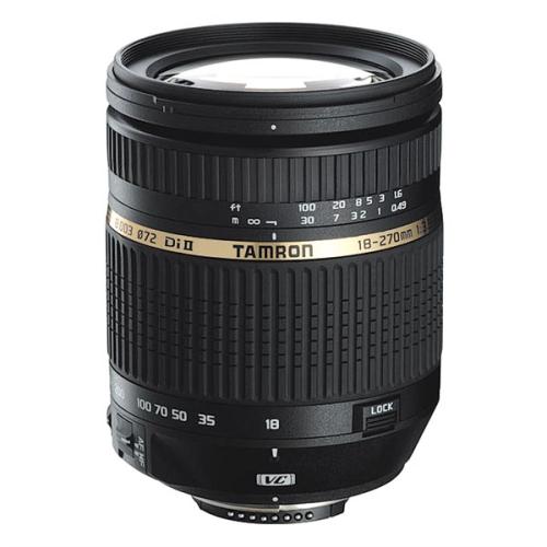 Tamron AF 18-270mm F/3.5-6.3 Di-II VC PZD pro Nikon černý
