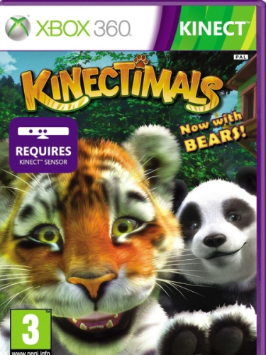Microsoft Xbox 360 Kinectimals Now with Bears (Kinect ready)