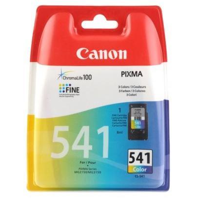 Canon CL-541, 180 stran - originální červený/modrý/žlutý