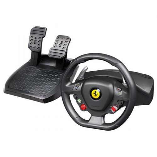 Thrustmaster Ferrari 458 Italia pro PC, Xbox 360 + pedály černý/červený